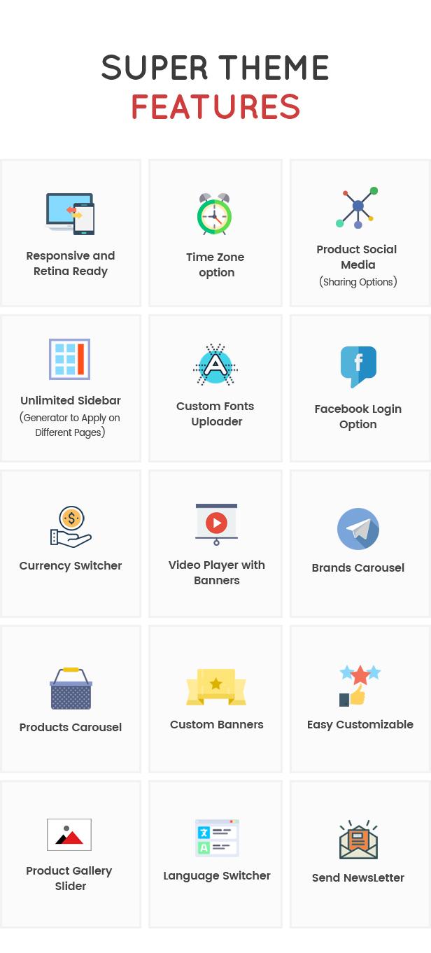 Zetra - A WordPress Theme for eCommerce Websites - 4