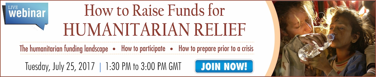 How to Raise Funds for Humanitarian Relief