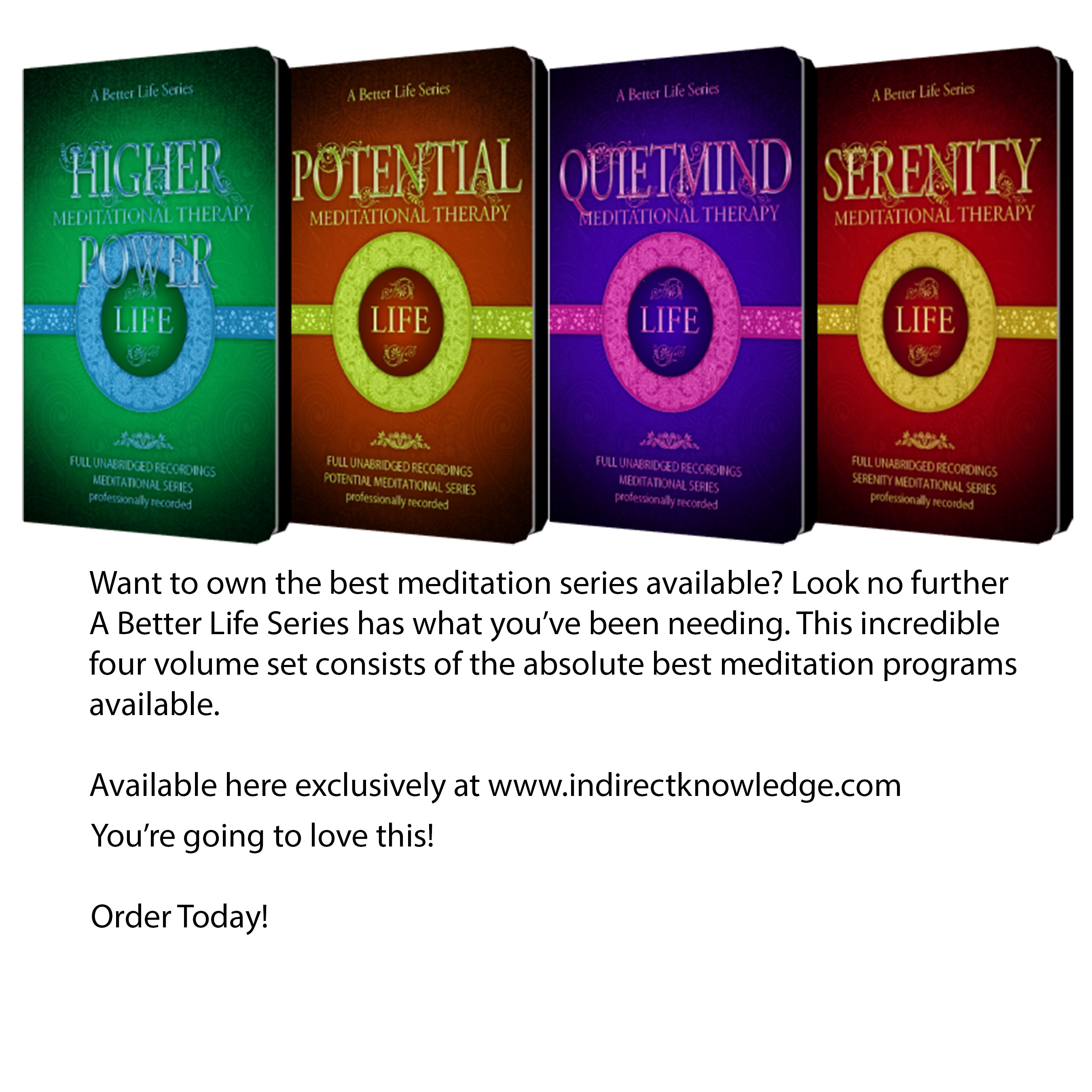 Meditation (Complete Series Set)