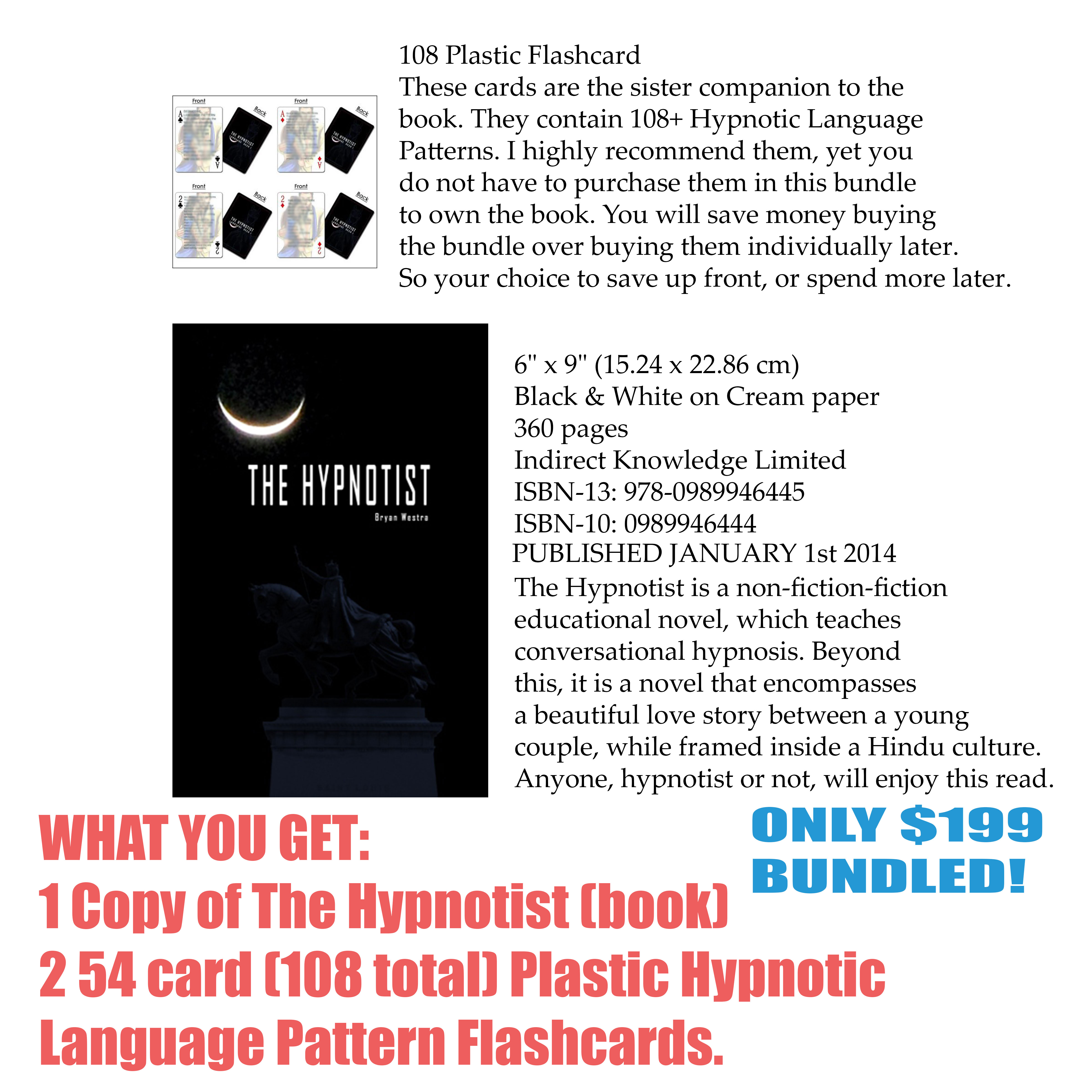 THE HYPNOTIST BUNDLE