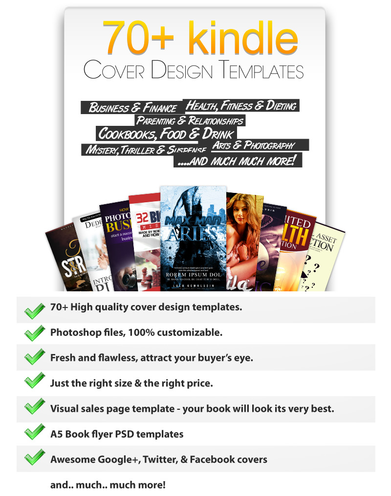 free ebook covers templates - 70 kindle ebook covers psd templates kindle ebook cover