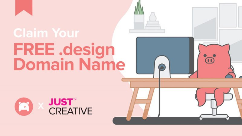 Free .Design Domain For One Year