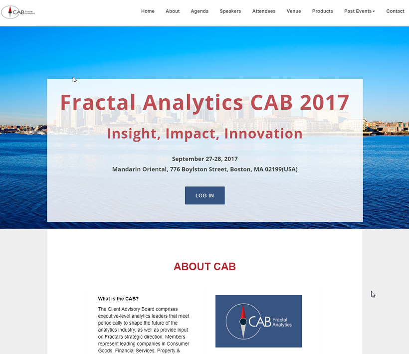 Fractal-CAB2017-Official-App-Registration-website