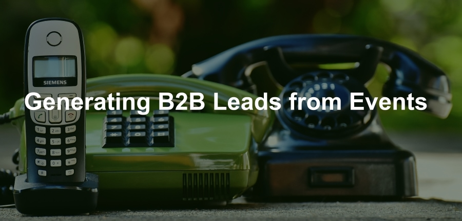 B2B Lead Generation from Events