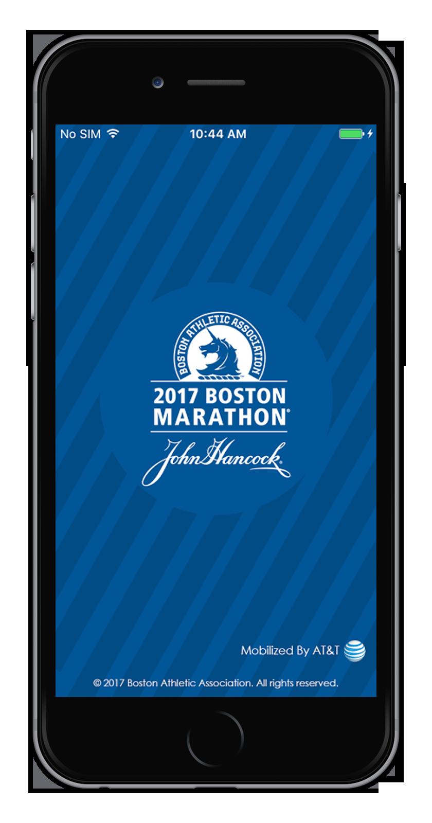 2017 Boston Marathon App
