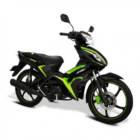 AT110 RT Leds Negro/Verde