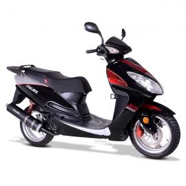 XS150 Negro/Plata