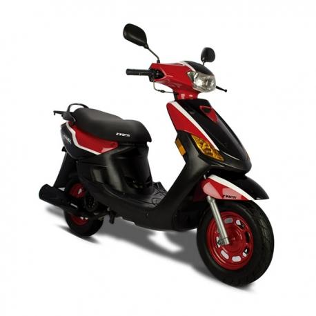 D125 Rojo/Negro