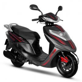 DSG125 Negro / Rojo