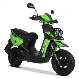 XW 150 Negro / Verde