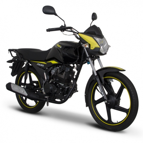 FT150 TS Negro Amarillo