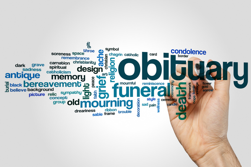 Obituary website