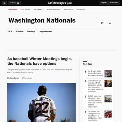 d27ca9ce395 Nationals Journal Your source for Washington Nationals   MLB baseball news  and information. Get the latest schedule and stats for the Washington  Nationals.