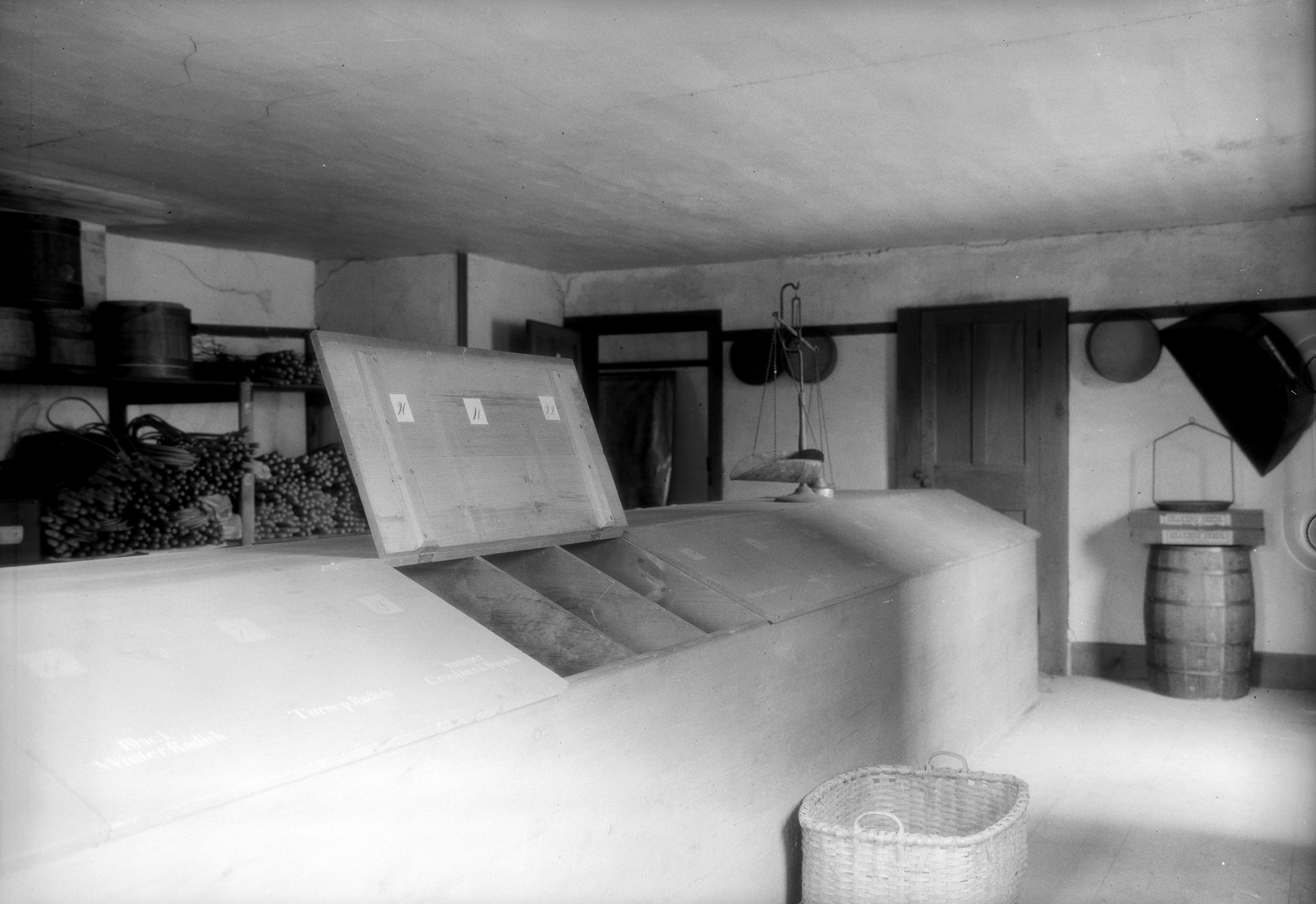 Seed Loft, Brick Shop, North Family, Mount Lebanon, NY, 1931, Historic American Buildings Survey, Charles C. Adams, photographer. Retrieved from: http://www.loc.gov/pictures/item/ny0109.photos.115496p/resource/