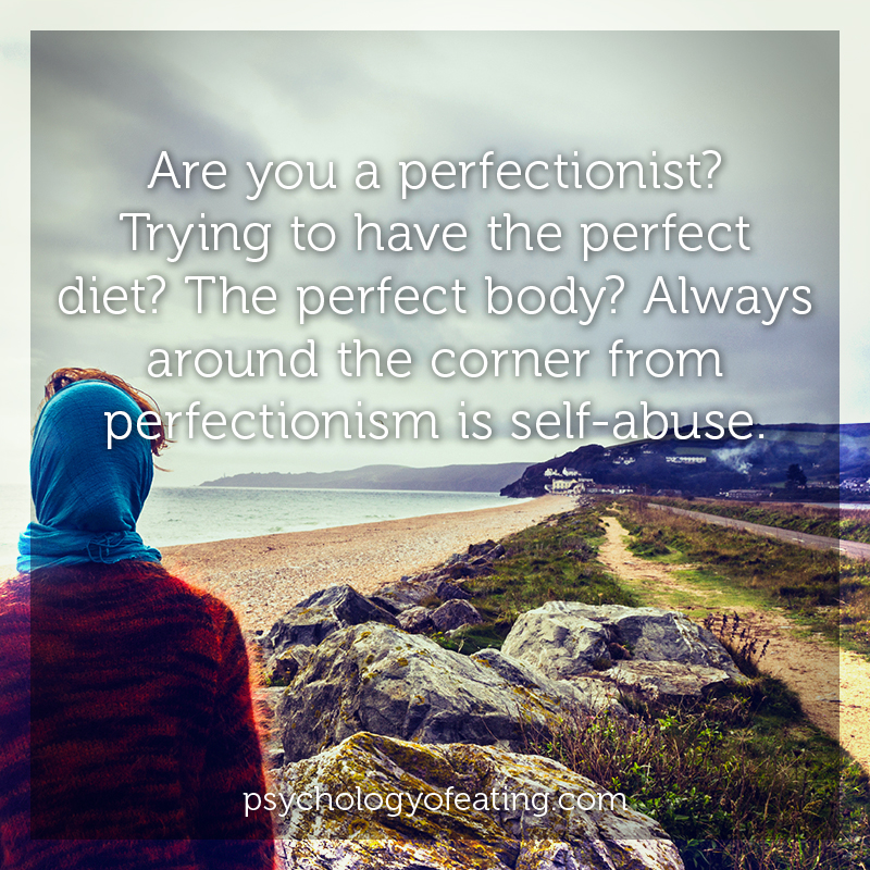 Are you a perfectionist Trying to have the perfect diet #health #nutrition #eatingpsychology #IPE