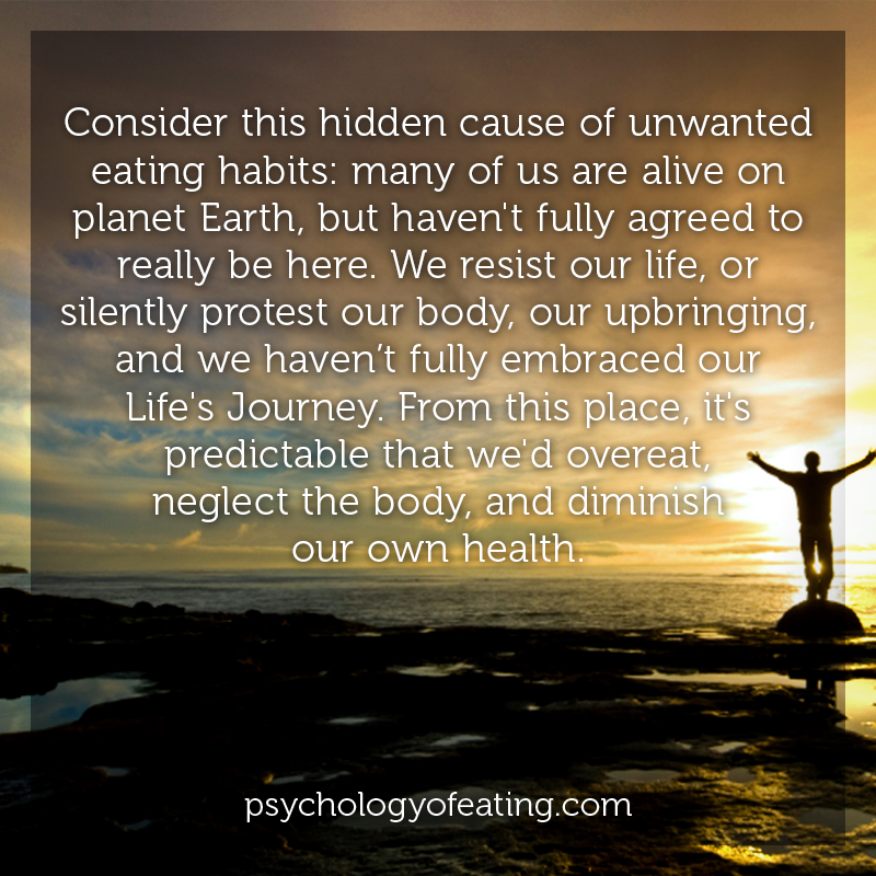 Consider this hidden cause of unwanted eating habits #health #nutrition #eatingpsychology #IPE
