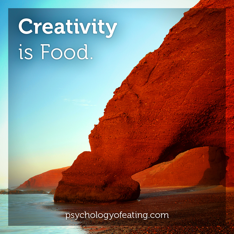 Creativity is Food #health #nutrition #eatingpsychology #IPE