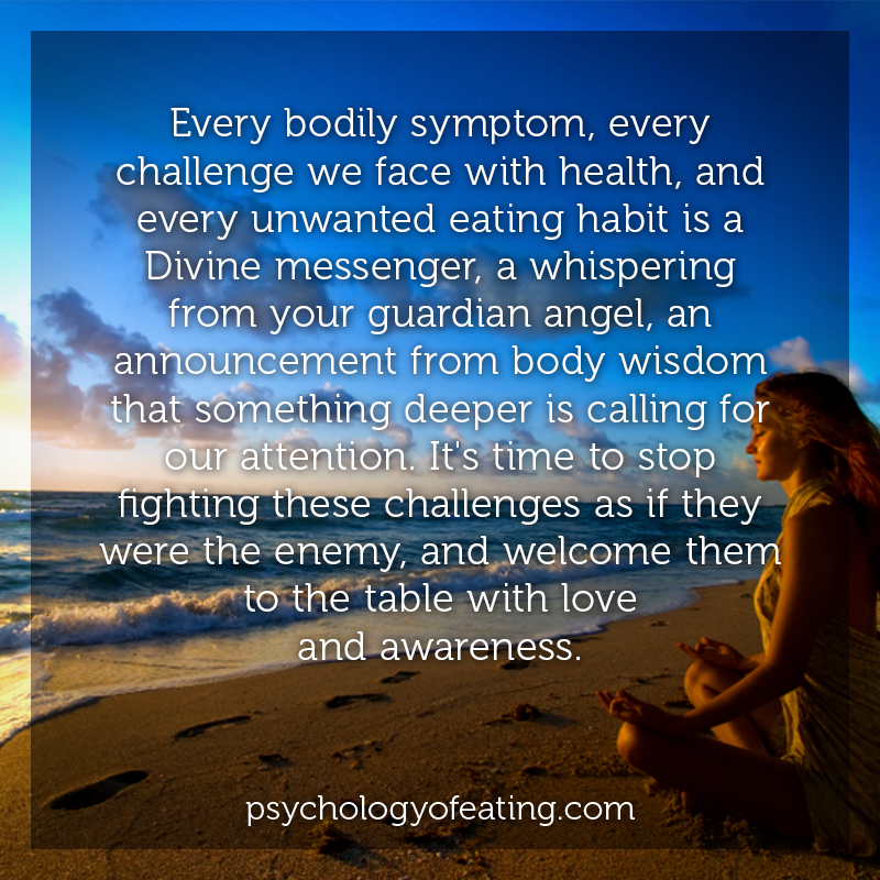 Every bodily symptom, every challenge we face with health, and every unwanted eating habit#health #nutrition #eatingpsychology #IPE