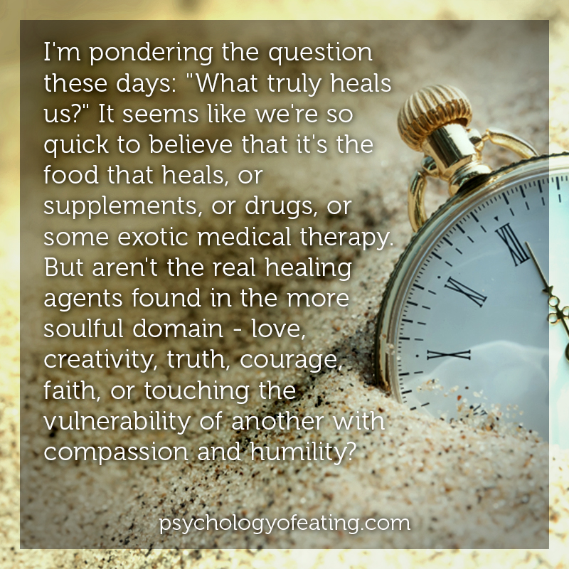 Im pondering a question these days #health #nutrition #eatingpsychology #IPE