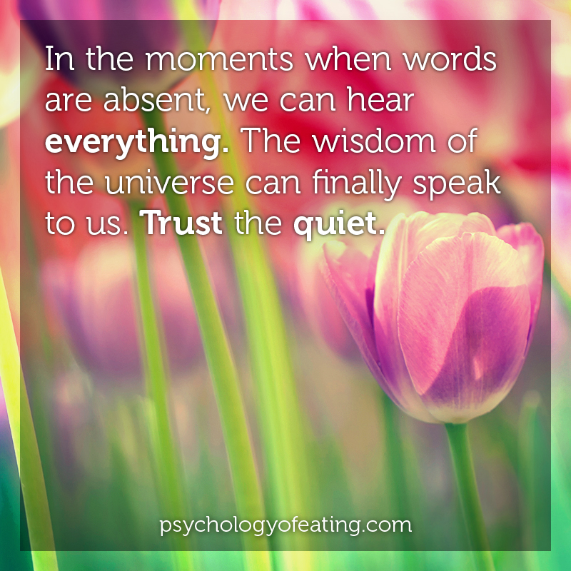 In the moments when words are absent #health #nutrition #eatingpsychology #IPE