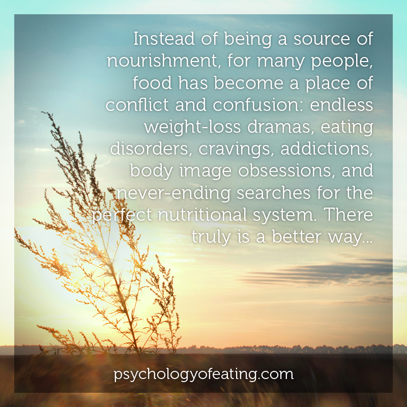 Instead of being a source of nourishment, for many people #health #nutrition #eatingpsychology #IPE