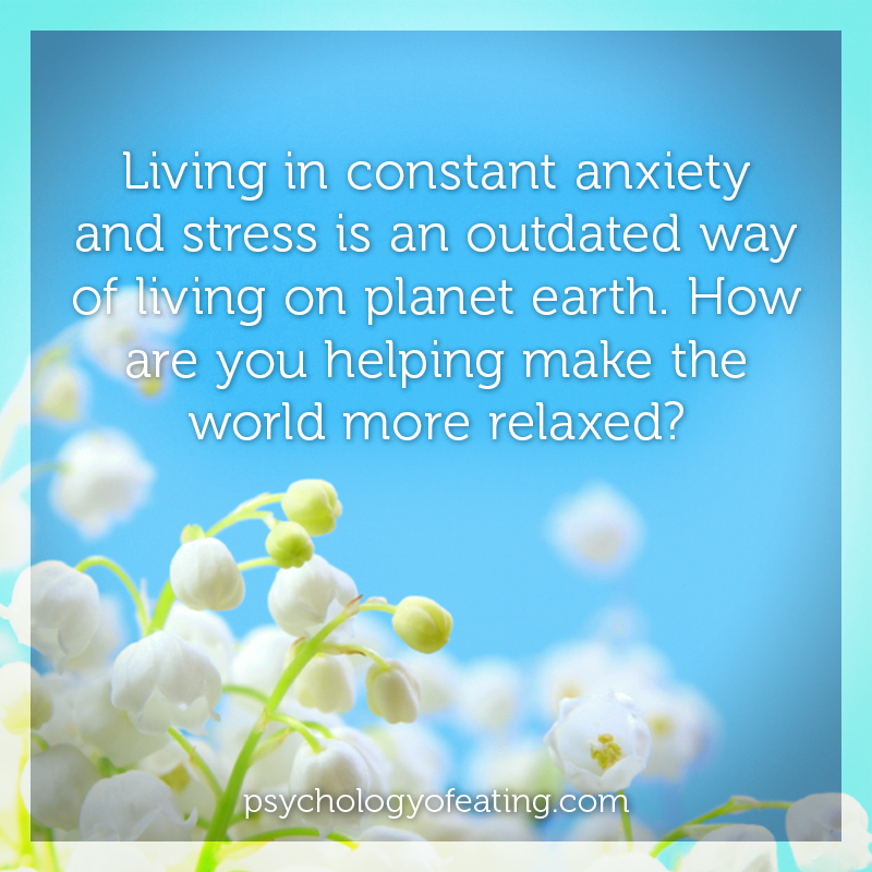 Living in constant anxiety #health #nutrition #eatingpsychology #IPE
