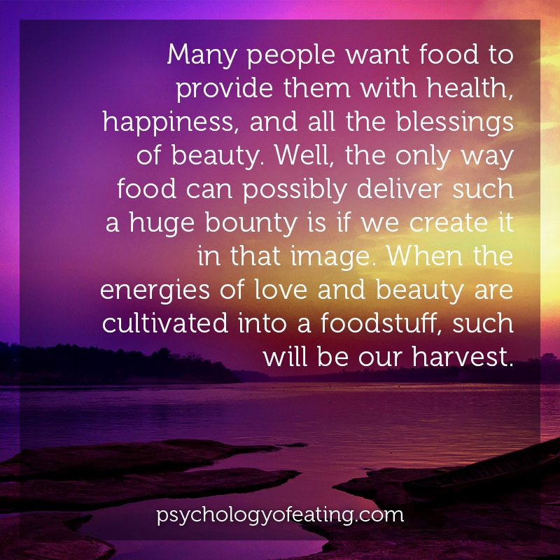 Many people want food to provide them with health, happiness, and all the blessings of beauty #health #nutrition #eatingpsychology #IPE