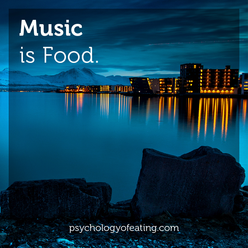 Music is Food #health #nutrition #eatingpsychology #IPE