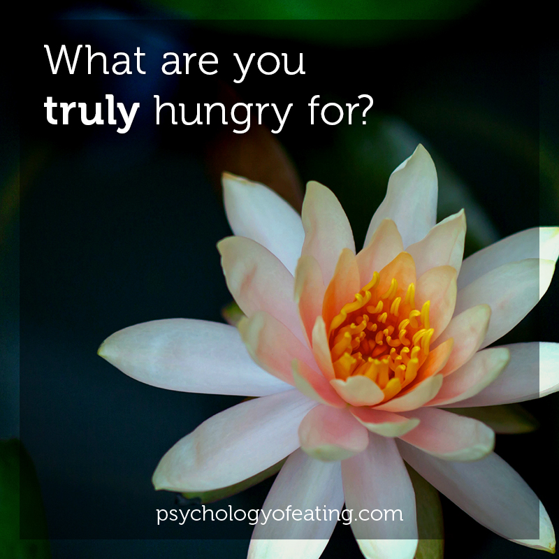 What are you_truly hungry for #health #nutrition #eatingpsychology #IPE