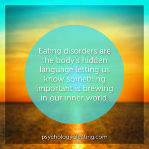 Eating disorders are the bodys hidden language #health #nutrition #eatingpsychology #IPE