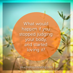 What would happen if you stopped judging #health #nutrition #eatingpsychology #IPE
