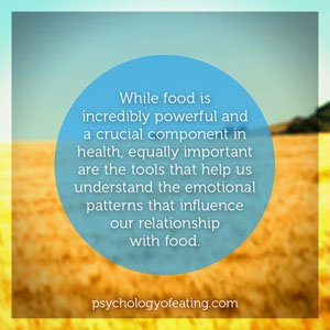 While food is inredibly powerful #health #nutrition #eatingpsychology #IPE