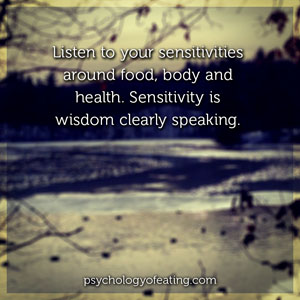 Are You a Sensitive Nutritional Soul 2 #health #nutrition #eatingpsychology #IPE