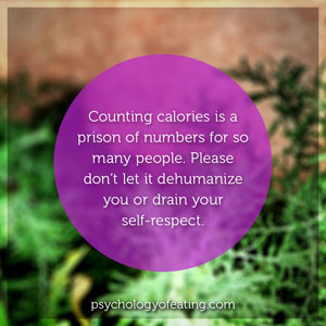 Are Numbers Ruining Your Nutritional Health 1. #health #nutrition #eatingpsychology #IPE