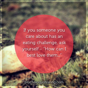 How to Help Someone with an Eating Challenge 7 circle. #health #nutrition #eatingpsychology #IPE