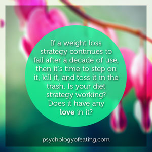 If a weight loss strategy continues to fail #health #nutrition #eatingpsychology #IPE