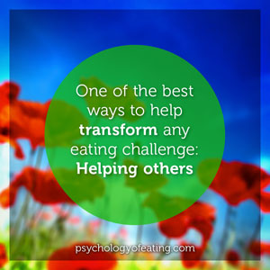 One of the best ways to help transform #health #nutrition #eatingpsychology #IPE