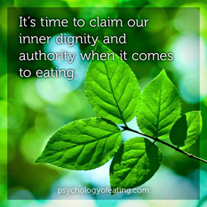 Have You Learned this Important Lesson About Eating 4 #health #nutrition #eatingpsychology #IPE