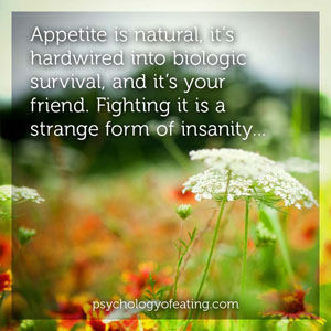 Insight Into Appetite 1 #health #nutrition #eatingpsychology #IPE