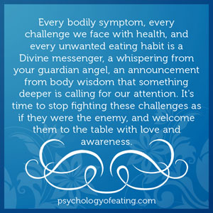 Every bodily symptom, every challenge we face with health, and every unwanted eating habit #health #nutrition #eatingpsychology #IPE