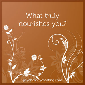 What truly nourishes you #health #nutrition #eatingpsychology #IPE