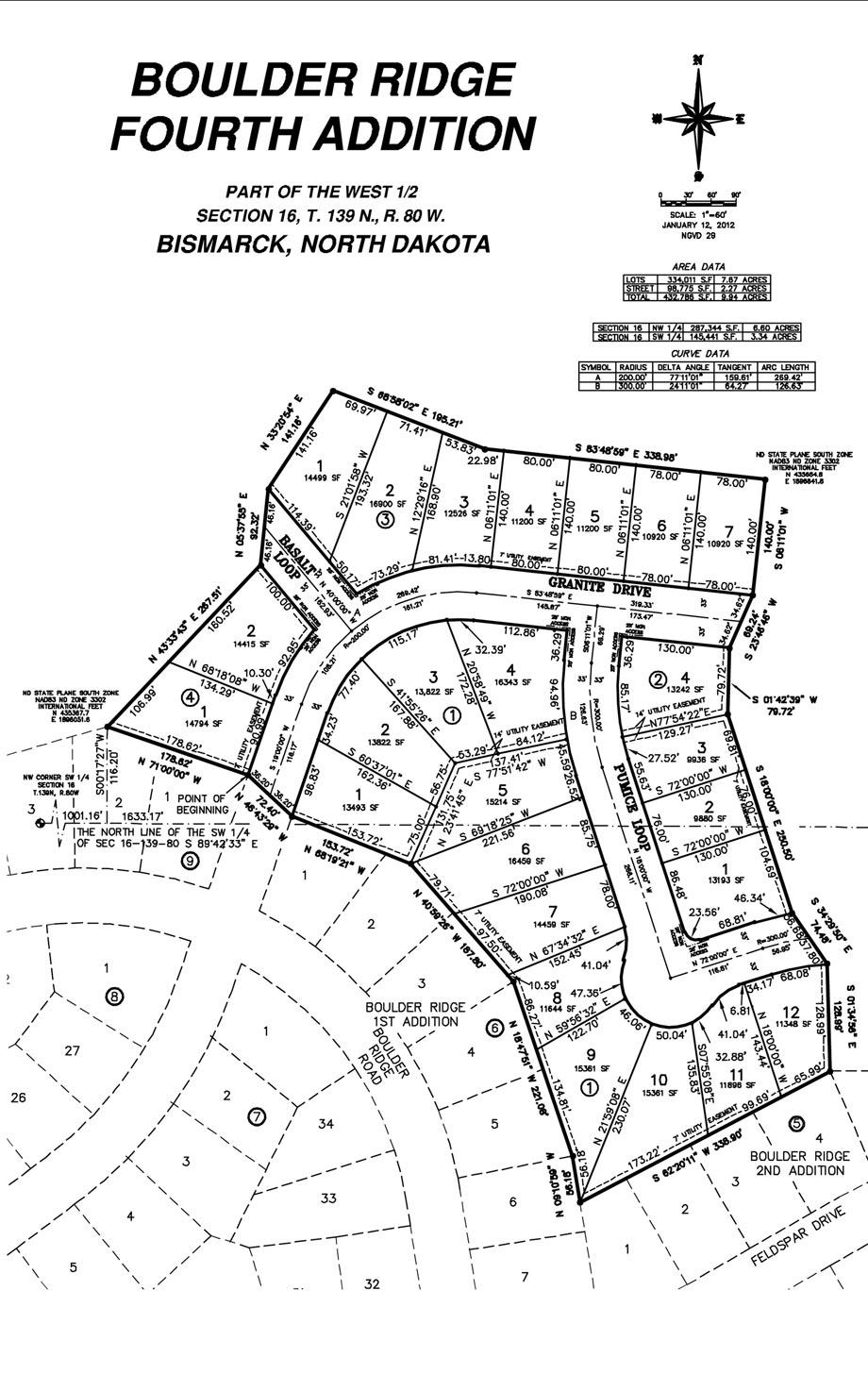 boulder ridge th addition lot map. boulder ridge th addition lot map  knutsonhomescom
