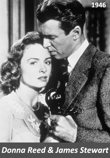 Image of Donna Reed and James Stewart in It's a Beautiful Life (1946)