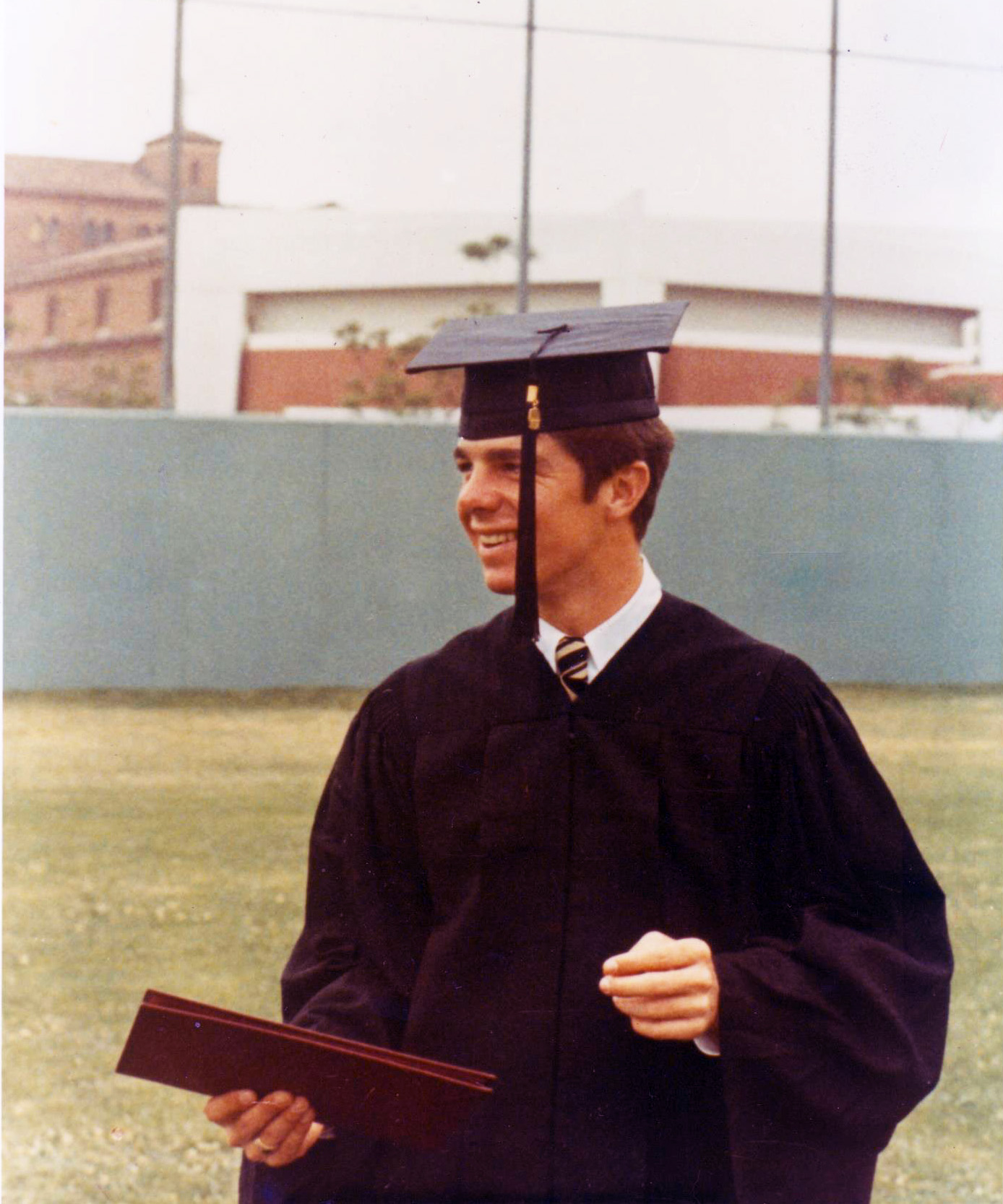 Grover at his USC Graduation in 1969