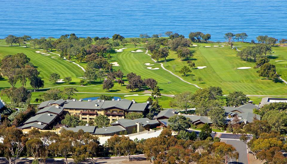 Long view of Torrey Pines Lodge