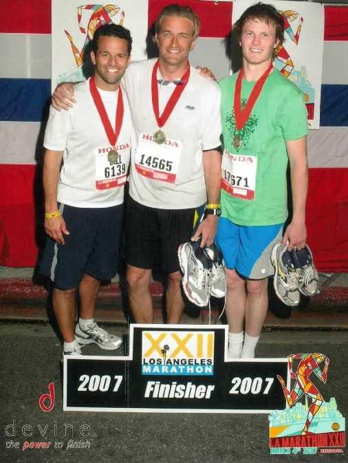 marathon finish 2007
