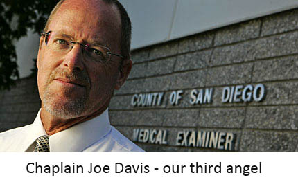 Chaplain Joe Davis - our third angel