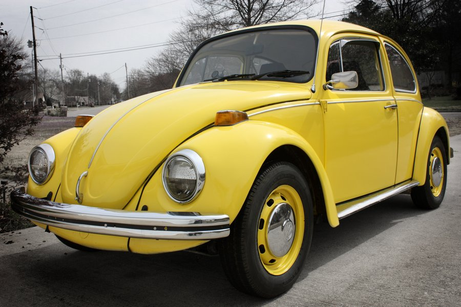 1970 Yellow VW