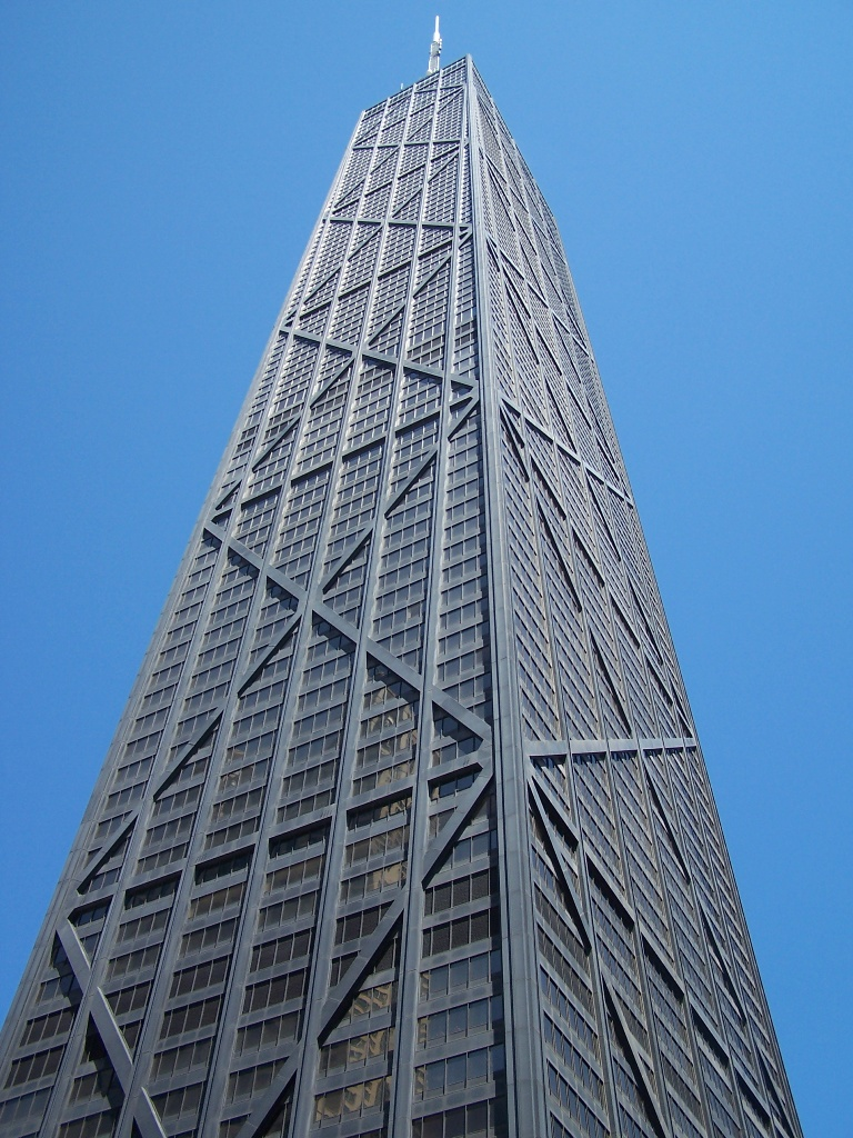 John Hancock Tower in downtown Chicago AKA Big John