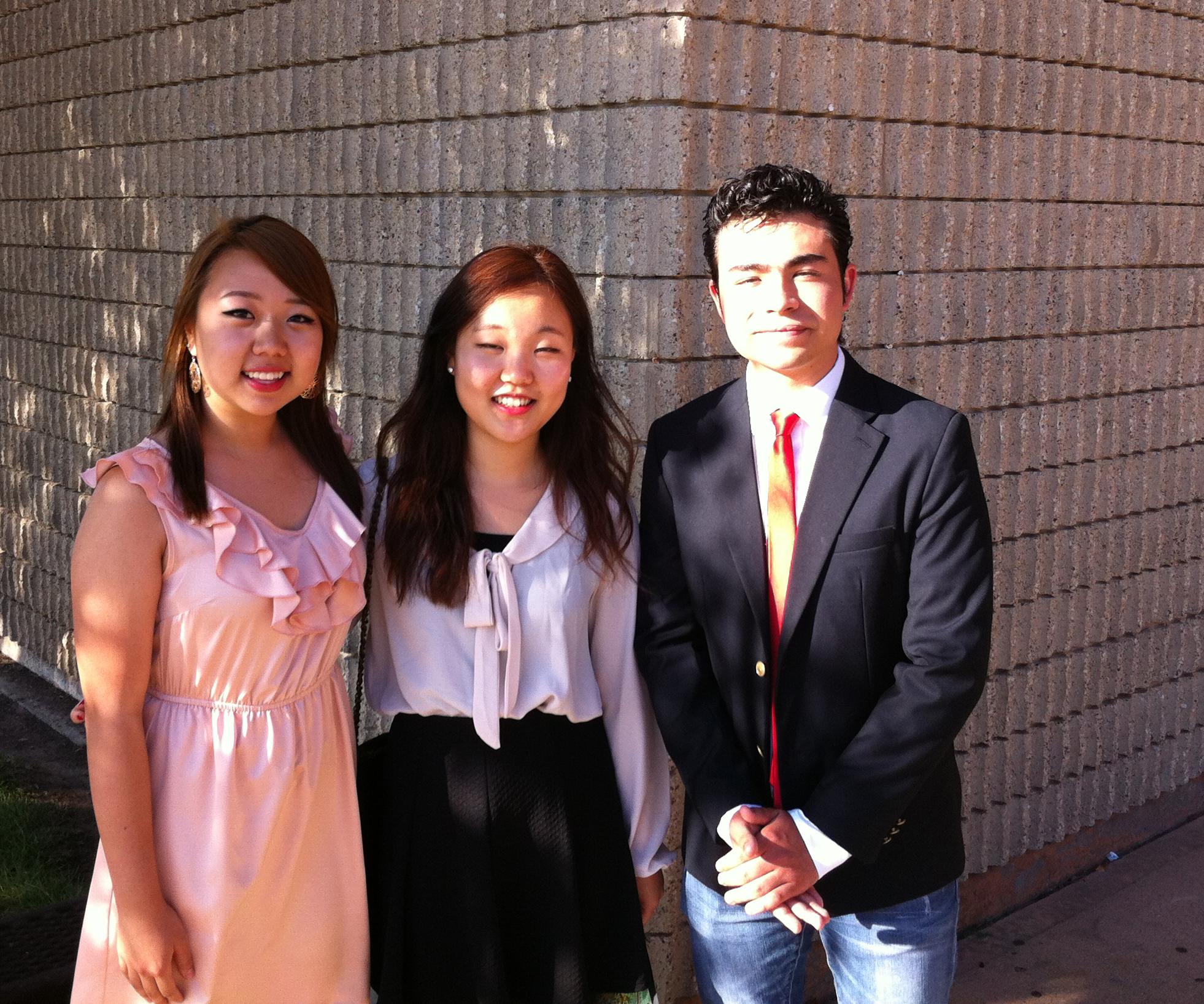 Minji Kim, Rachel Oh, Jose Antonio Soto
